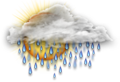 Meist Regen