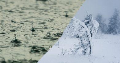 Ab 500 m winterlich
