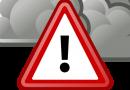Vorsicht vor Gewitter und Sturmböen!!